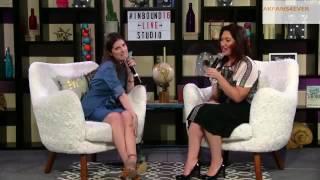 "Anna Kendrick Facebook Live Interview at InBound2016-""Scrappy Little Nobody"" Promotion"