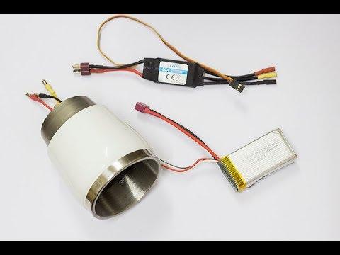 How to Run EDF Brushless Motor without Radio Transmitter Rx Tx RC