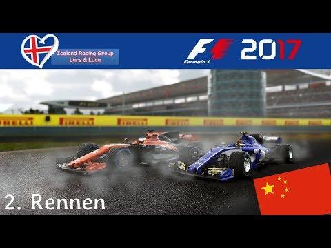 F1 2017 - Iceland-Racing-Group - Liga - 2. Rennen - China