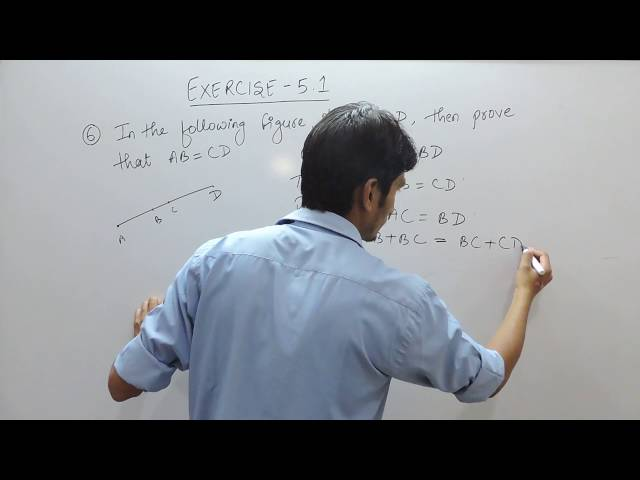 Exercise 5.1 - Question 6 NCERT/CBSE Solution for Class 9th Maths Introduction to Euclids Geometry