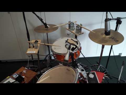 IEEE Signal Processing Cup 2017: Real-time beat tracking drum kit