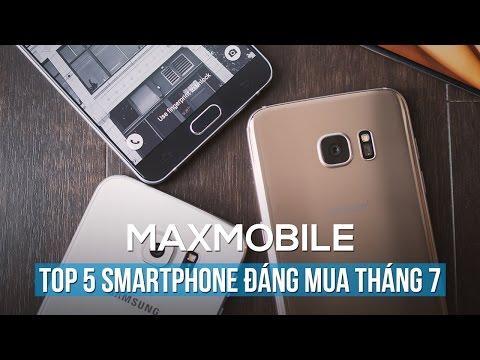 Top điện thoại đáng mua nhất tại MaxMobile tháng 7/2016