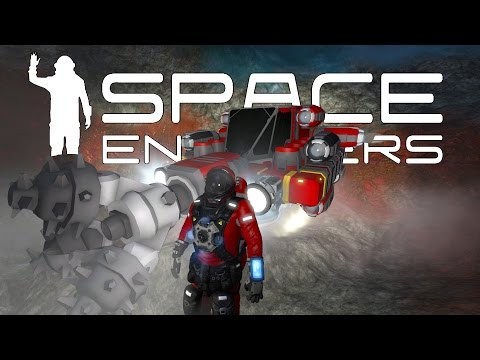 Space Engineers - Mining Survey Team #3 - Building Our First Base
