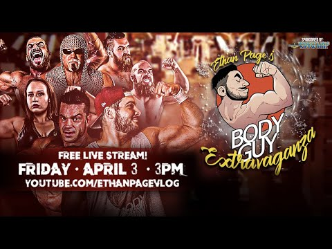 Ethan Page's Body Guy Extravaganza • FULL SHOW ft. Brian Cage vs Scott Steiner