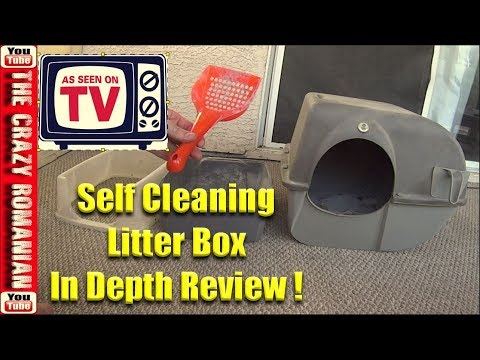 In-Depth review - Omega Paw Self Cleaning CAT Litter BOX - Live with Dignity