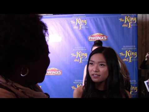 Ashley Liao Fuller House King & I Red Carpet at the Pantages
