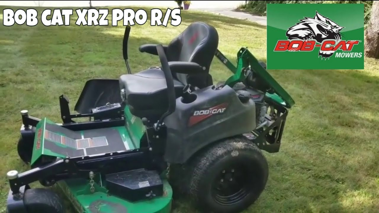 Bobcat XRZ Pro RS Zero Turn Review - Commercial Mower Reviews