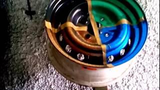 Пробные покраски на диске ваз