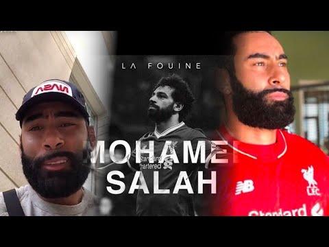 La Fouine réagit à la blessure de Mohamed Salah !
