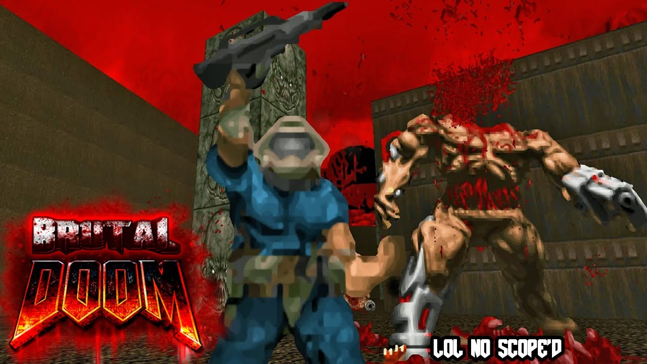 BRUTAL DOOM V21 Gold & DOOM:ONE - Knee-Deep in the Dead
