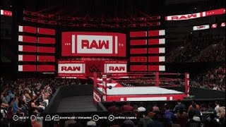 WWE 2K18: How To Make New 2018 Raw Arena (With New Logos)