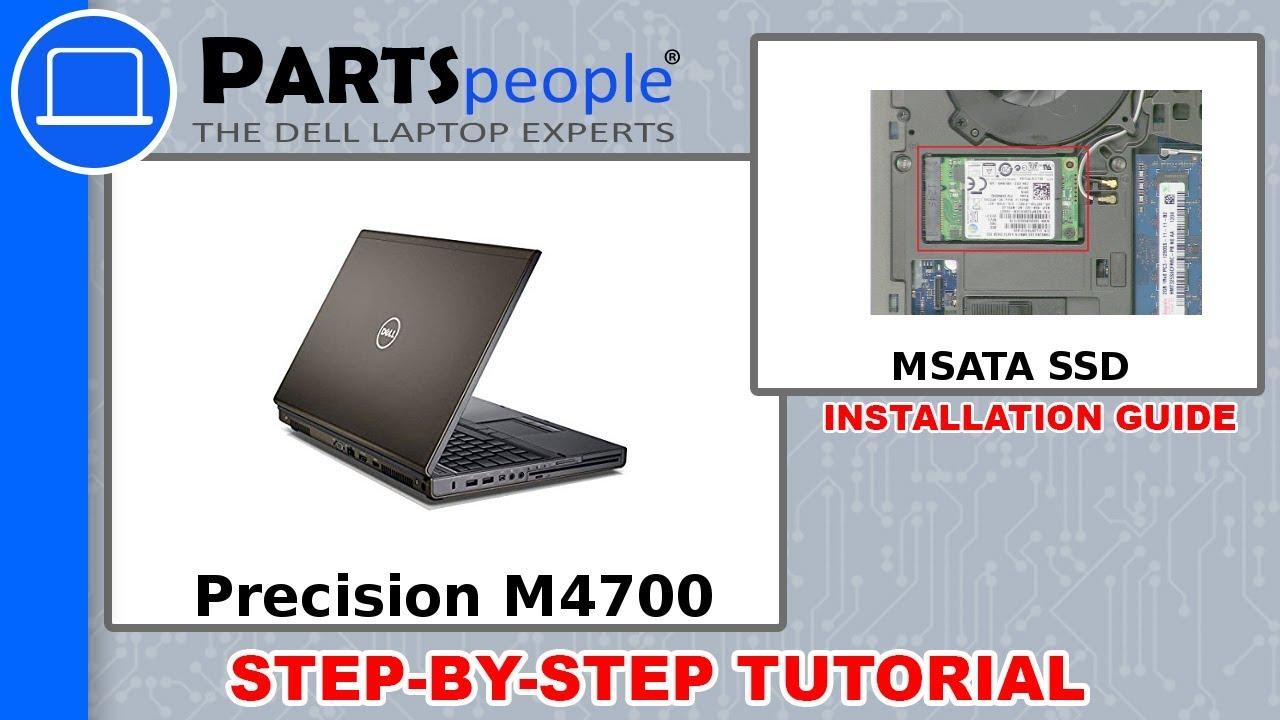 Dell Precision M4700 (P21F001) MSATA SSD How-To Video Tutorial