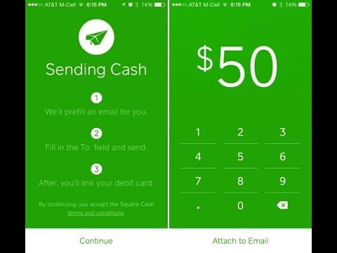 Square Cash Free Money Fast 2 Mins