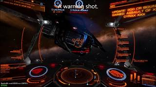 Elite Dangerous The Code PvP | Helping Lave Radio Network fight the Alliance