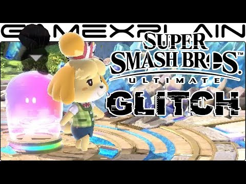 Shadow Boy Escapes the Assist Trophy Container in NEW Smash Bros. Ultimate Glitch thumbnail