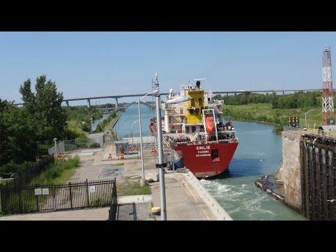 Welland Canal - Lock 1 - St. Catharines, Ontario, Canadaиз YouTube · Длительность: 3 мин26 с