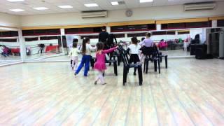 урок бальных танцев 3