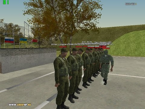 CRMP RP Server One #10 - Снова в Армии