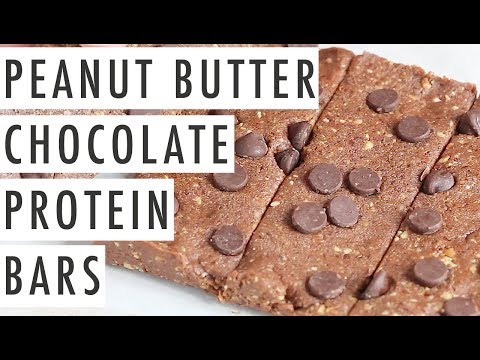 peanut-butter-chocolate-protein-bars