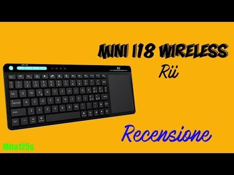 Recensione Rii Mini i18 Wireless - Finalmente un touchpad reattivo