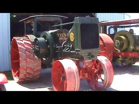 Antique IHC International 30-60 two cylinder Titan walk around