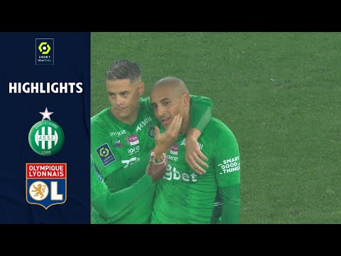 St. Etienne Lyon Goals And Highlights