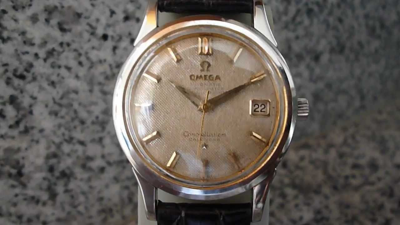 Omega Constellation Hombre