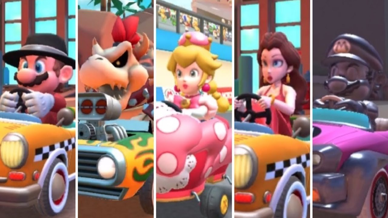 Mario Kart Tour All High End Characters Gameplay