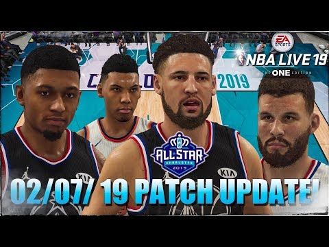 097884c0b NBA Live 19  02 07 Live Content + Gameplay Update New Face Scans   More!