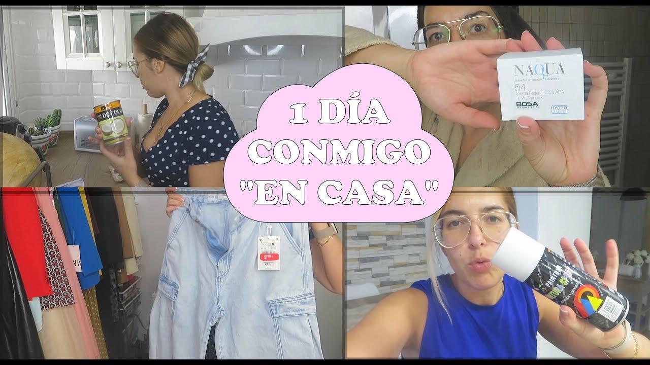 UN DÍA CONMIGO EN CASA | rutinas, haul, DIY, charla....
