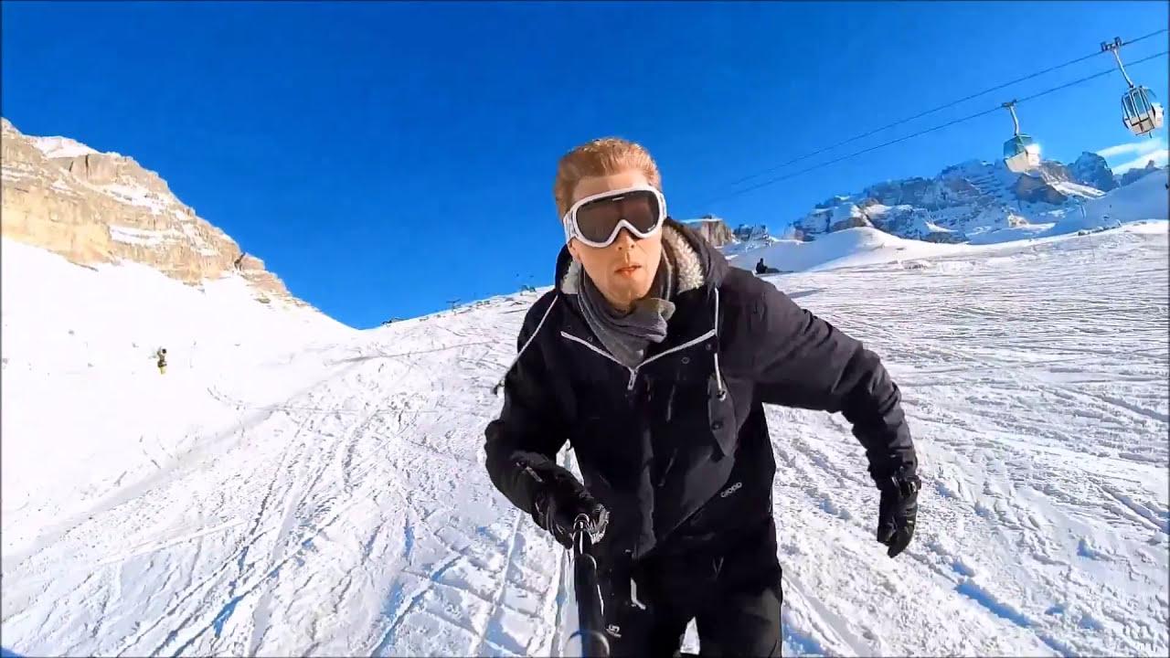 Snowfeet The Shortest Mini Skis In The World Youtube