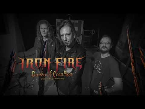 IRON FIRE - Dawn of Creation (Lyric video) // Official Digital Single 2018 // Crime Records