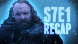 Game of Thrones S7E1 RECAP - Dragonstone