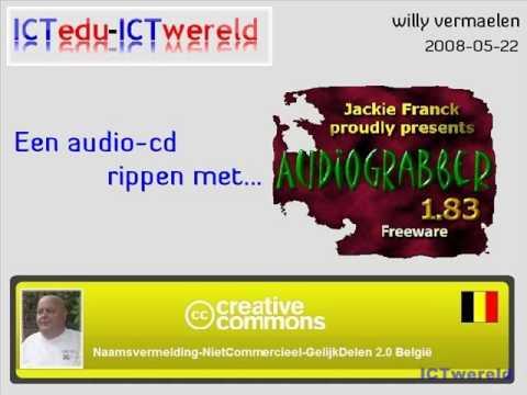 AudioGrabber : audio cd's rippen