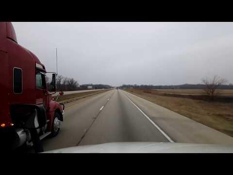 BigRigTravels LIVE! Morris, Illinois to Altoona, Iowa Interstate 80 West-Dec. 22, 2017