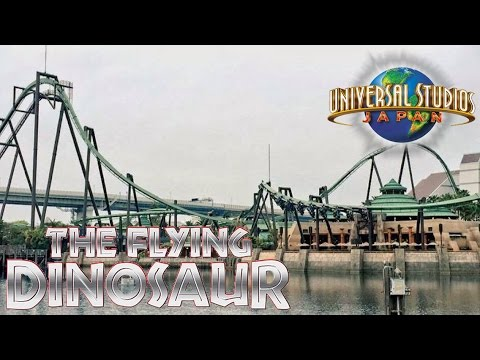 Universal Studios Japan Tour & Review including FLYING DINOSAUR!