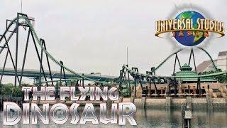 Universal Studios Japan 2016 Tour & Review including FLYING DINOSAUR!