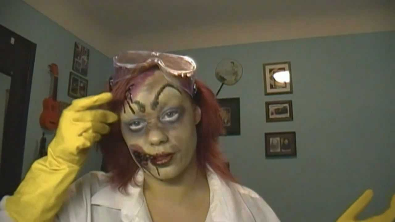 mad scientist: easy diy halloween costume - youtube
