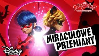 Miraculowe przemiany! | Miraculous: Biedronka i Czarny Kot | Disney Channel Polska