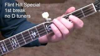 Tom Adams banjo lesson - Flint Hill Special