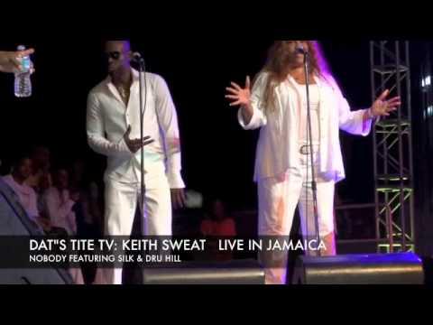 KEITH SWEAT JAMAICA NOBODY