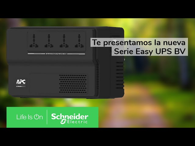 Easy UPS ideal para trabajo remoto | Schneider Electric