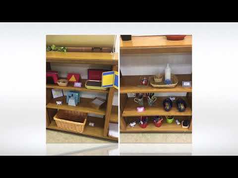 Setting up my Montessori classroom : BEFORE