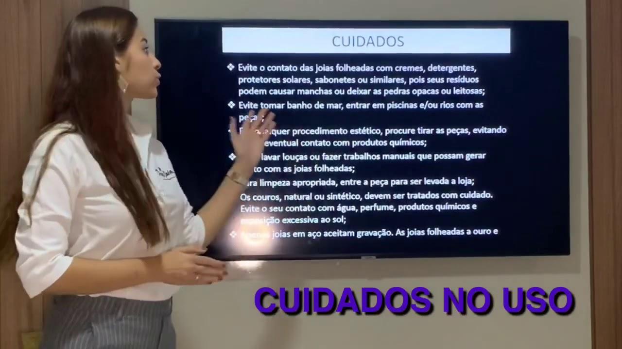 CUIDADOS NO USO DE SEMIJOIAS