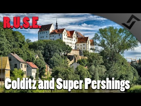 R.U.S.E. - Colditz and Super Pershings - Missions 1 & 2