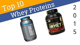 10 Best Protein Powders 2015