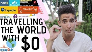 HOW TO TRAVEL THE WORLD FOR FREE! + Jobs That Allow You To Travel