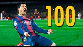 Luis Suarez - All 100 Goals for FC Barcelona HD