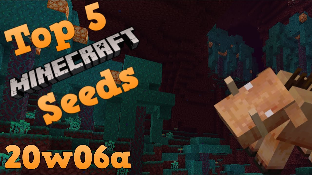 Top 8 EPIC Seeds for Minecraft 8.86 The NETHER Update! [8] (8)