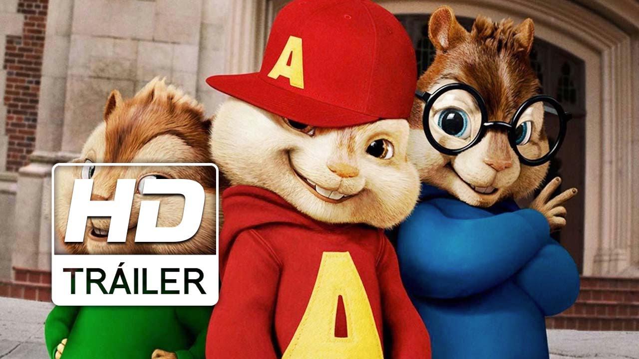Alvin Y Las Ardillas Aventura Sobre Ruedas Trailer Oficial Doblado Hd Youtube
